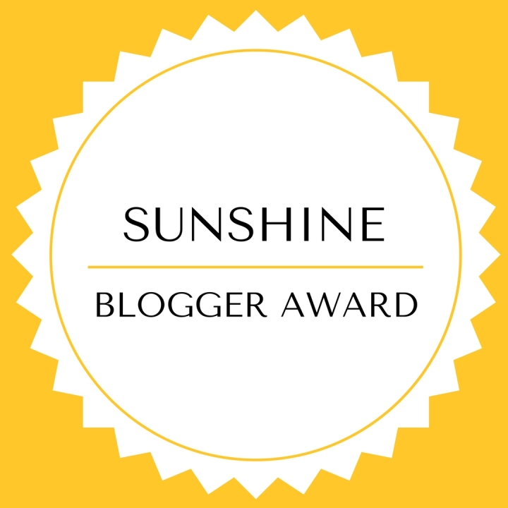 Well-Caffeinated Traveller Nominated for The Sunshine Blogger Award!